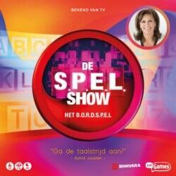 De S.P.E.L.Show: Het bordspel spel doos box Spellenbunker.nl