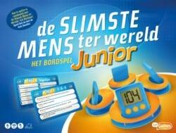 De Slimste Mens Ter Wereld Junior spel doos box Spellenbunker.nl