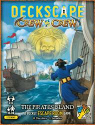 Deckscape Crew vs Crew: The Pirates' Island spel doos box Spellenbunker.nl