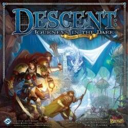 Descent: Journeys in the Dark (Second Edition) spel doos box Spellenbunker.nl