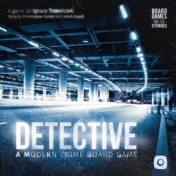 Detective- A Modern Crime Board Game Bordspel