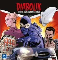 Diabolik: Heists and Investigations spel doos box Spellenbunker.nl