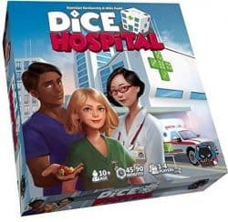 Dice Hospital Bordspel