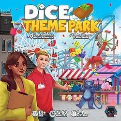 Dice Theme Park spel doos box Spellenbunker.nl
