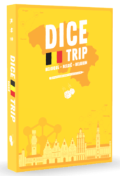 Dice Trip: Belgium spel doos box Spellenbunker.nl