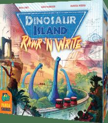 Dinosaur Island - Rawr 'n Write Nordspel Pandasaurus Games