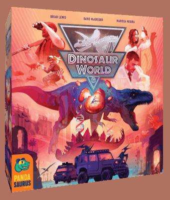 Dinosaur World Bordspel Pandasaurus Games