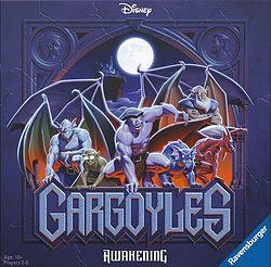 Disney Gargoyles: Awakening spel doos box Spellenbunker.nl