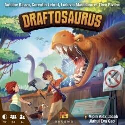 Draftosaurus spel doos box Spellenbunker.nl