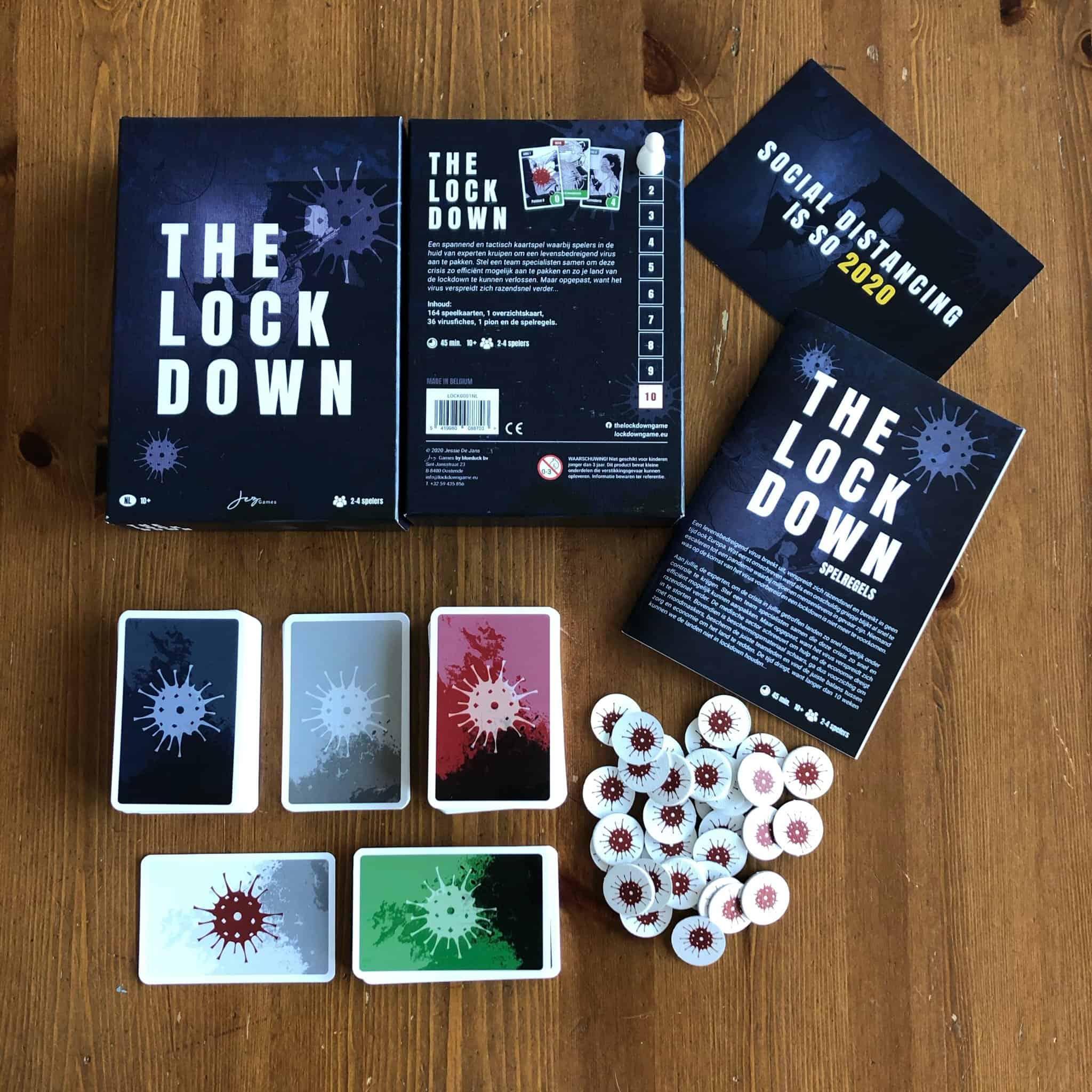 The Lockdown Kaartspel