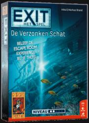 EXIT- De Verzonken Schat 999 Games