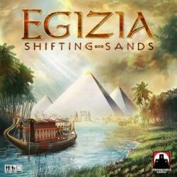 Egizia: Shifting Sands spel doos box Spellenbunker.nl