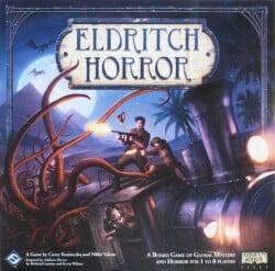 Eldritch Horror spel doos box Spellenbunker.nl
