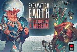 Excavation Earth: It Belongs in a Museum spel doos box Spellenbunker.nl