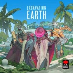 Excavation Earth spel doos box Spellenbunker.nl