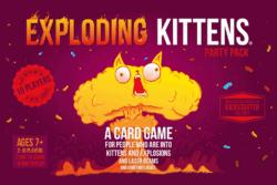 Exploding Kittens: Party Pack spel doos box Spellenbunker.nl