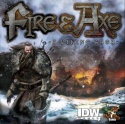 Fire & Axe: A Viking Saga spel doos box Spellenbunker.nl