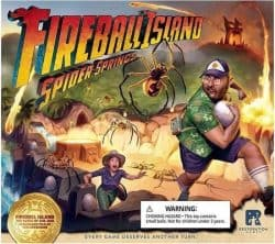 Fireball Island - The Curse of Vul-Kar- Spider Springs Bordspel Uitbreiding