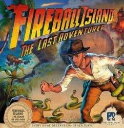 Fireball Island - The Curse of Vul-Kar- The Last Adventurer Bordspel Uitbreiding