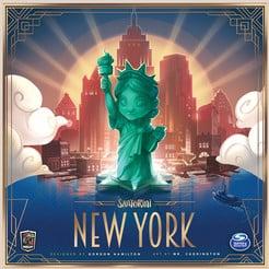Foto Bordspel Santorini - New York