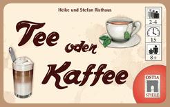 Foto Bordspel Tee Oder Kaffee