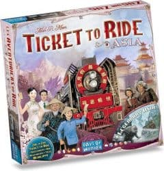 Foto Bordspel Ticket To Ride - Asia