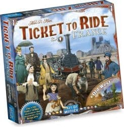 Foto Bordspel Uitbreiding Ticket To Ride - France & Old West