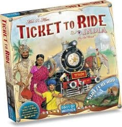 Foto Bordspel Uitbreiding Ticket To Ride - India & Zwitserland