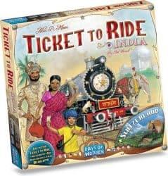 Foto Bordspel Uitbreiding Ticket To Ride - India & Zwitserland