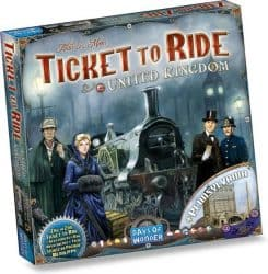 Foto Bordspel uitbreiding Ticket To Ride - United Kingdom & Pennsylvania
