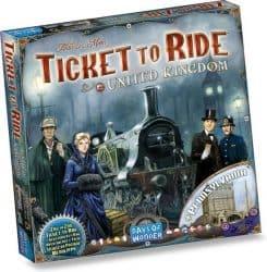 Foto Bordspel uitbreiding Ticket To Ride - United Kingdom & Pennsylvania