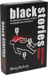 Foto kaartspel Black Stories - Real Crime