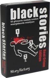 Foto kaartspel Black Stories - Real Crime