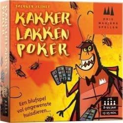 Foto kaartspel kakkerlakken Poker