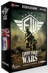 Frontier Wars: Expansion France/Japan spel doos box Spellenbunker.nl