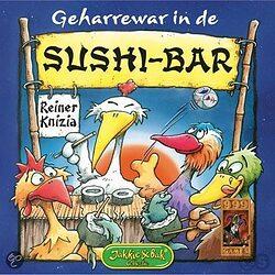 Geharrewar in de Sushi-bar 999 Games