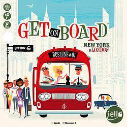 Get on Board: New York & London spel doos box Spellenbunker.nl