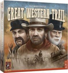Great Western Trail Bordspel