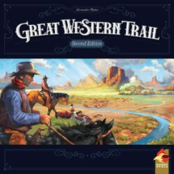 Great Western Trail (Second Edition) spel doos box Spellenbunker.nl