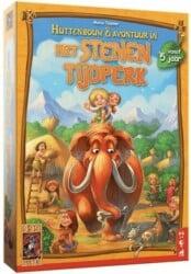 Het Stenen Tijdperk- Huttenbouw & Avontuur Bordspel 999 Games