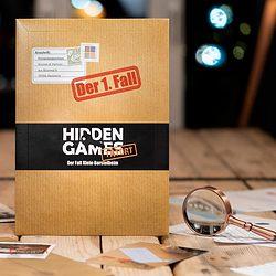 Hidden Games Crime Scene: The New Haven Case spel doos box Spellenbunker.nl