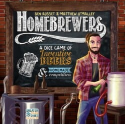 Homebrewers spel doos box Spellenbunker.nl