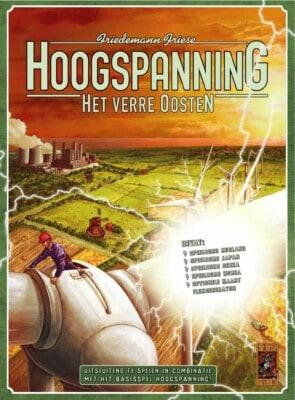 Hoogspanning: Het Verre Oosten spel doos box Spellenbunker.nl