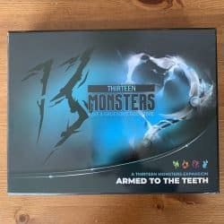 13 Monsters - Armed to the Teeth - Kaartspel Bordspel Uitbreiding