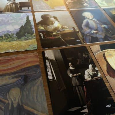 Stolen Paintings - Kaartspel Partyspel - Eagle-Gryphon Games