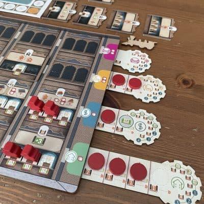 Carnegie (Prototype) - Quined Games - Bordspel