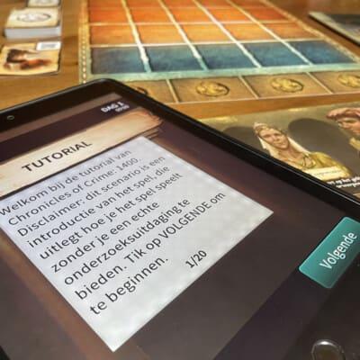 Chronicles of Crime 1400 - bordspel - 999 Games