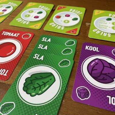 Foto Kaartspel Point Salad White Goblin Games