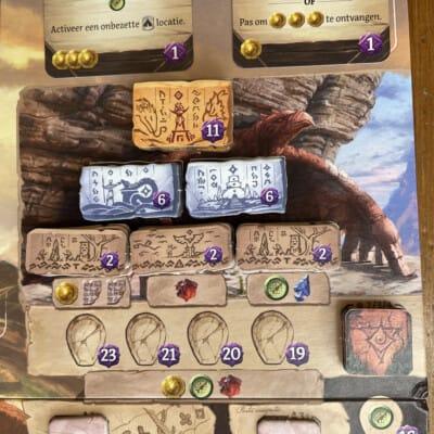 De Verdwenen Ruïnes van Arnak - White Goblin Games - Bordspel Deckbuilder Worker Placement Game Nederlands