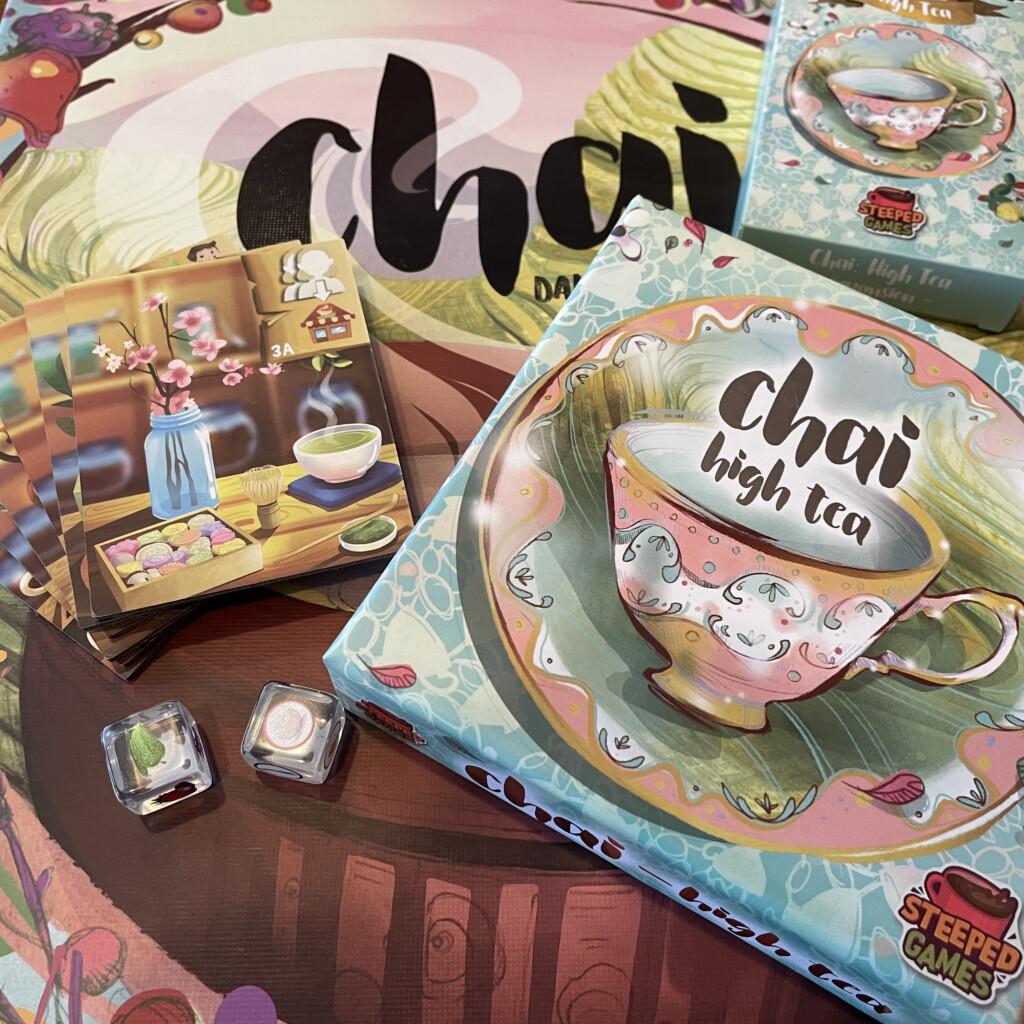 Chai High Tea (uitbreiding)
